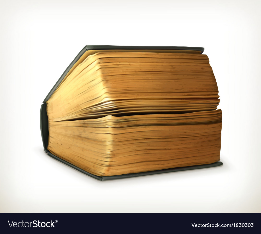 Ancient book vector | Price: 3 Credit (USD $3)