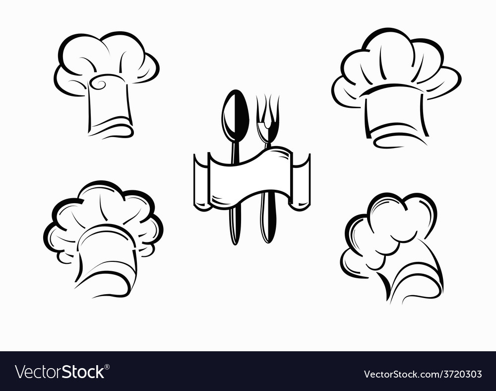 Icons chefs vector | Price: 1 Credit (USD $1)