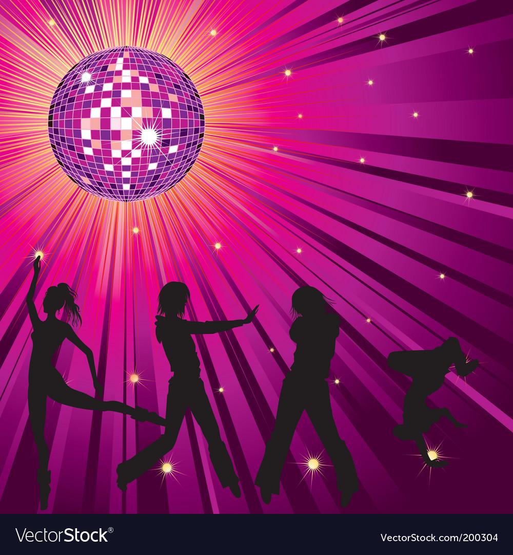 Nightclub background vector | Price: 1 Credit (USD $1)
