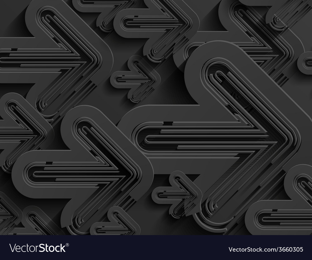 Black business abstract arrow background vector | Price: 1 Credit (USD $1)