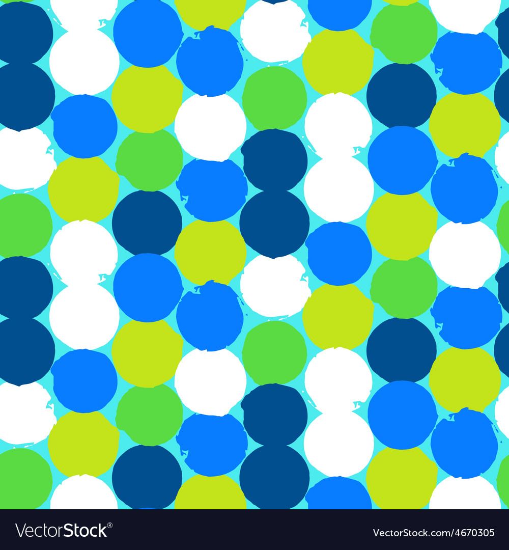Bold geometric pattern with circles vector | Price: 1 Credit (USD $1)