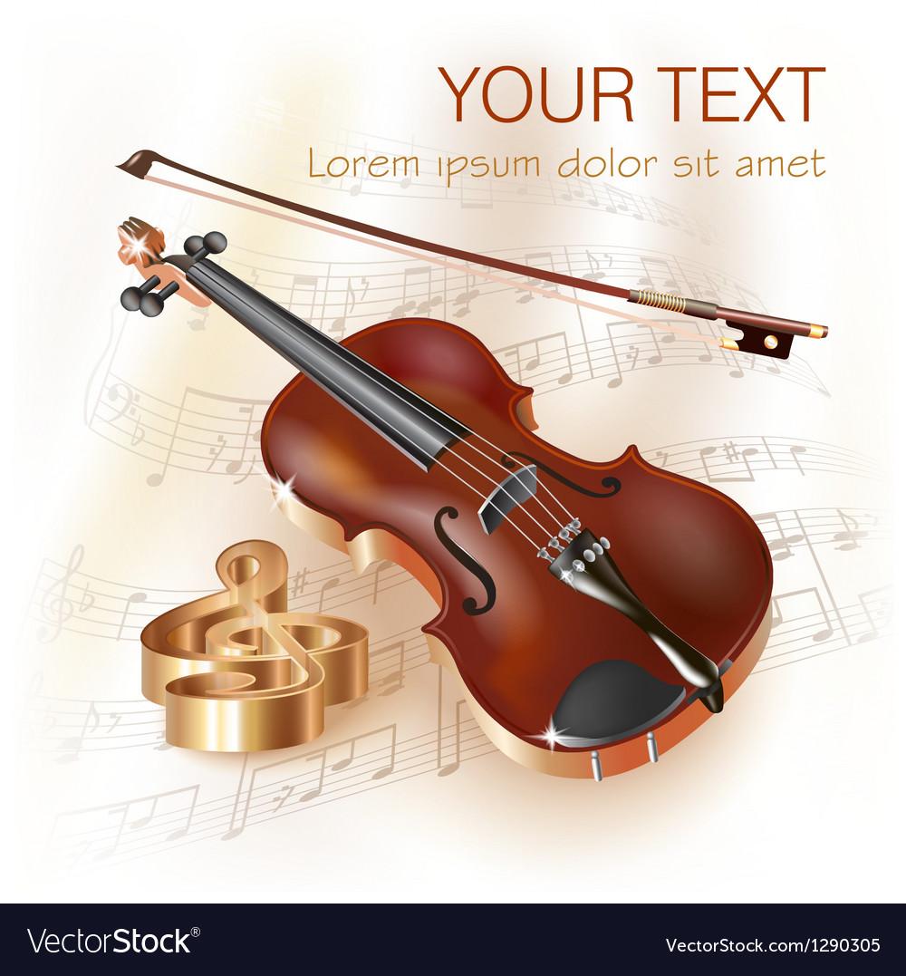 Classical violin vector | Price: 3 Credit (USD $3)