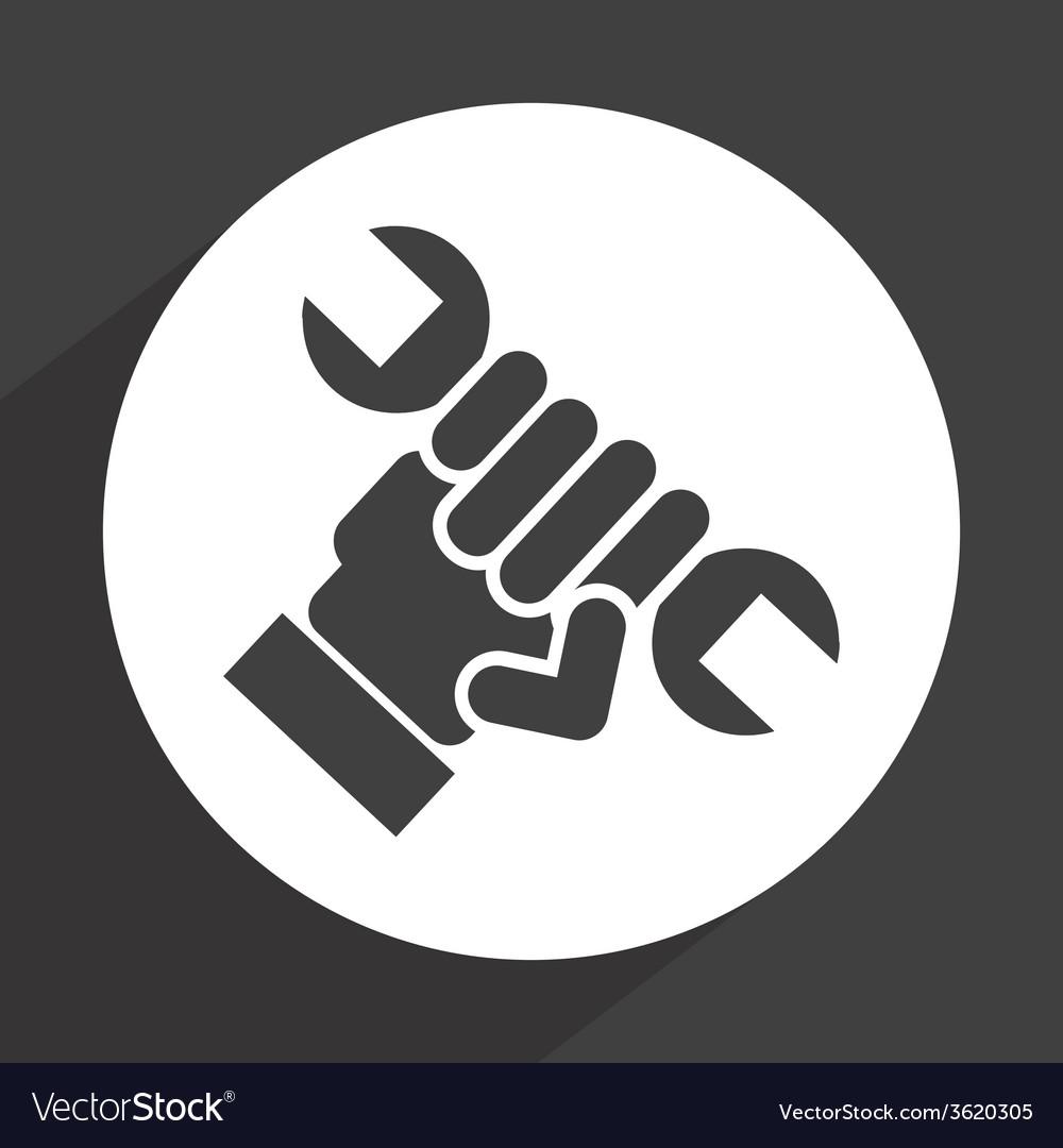 Repair icon vector | Price: 1 Credit (USD $1)