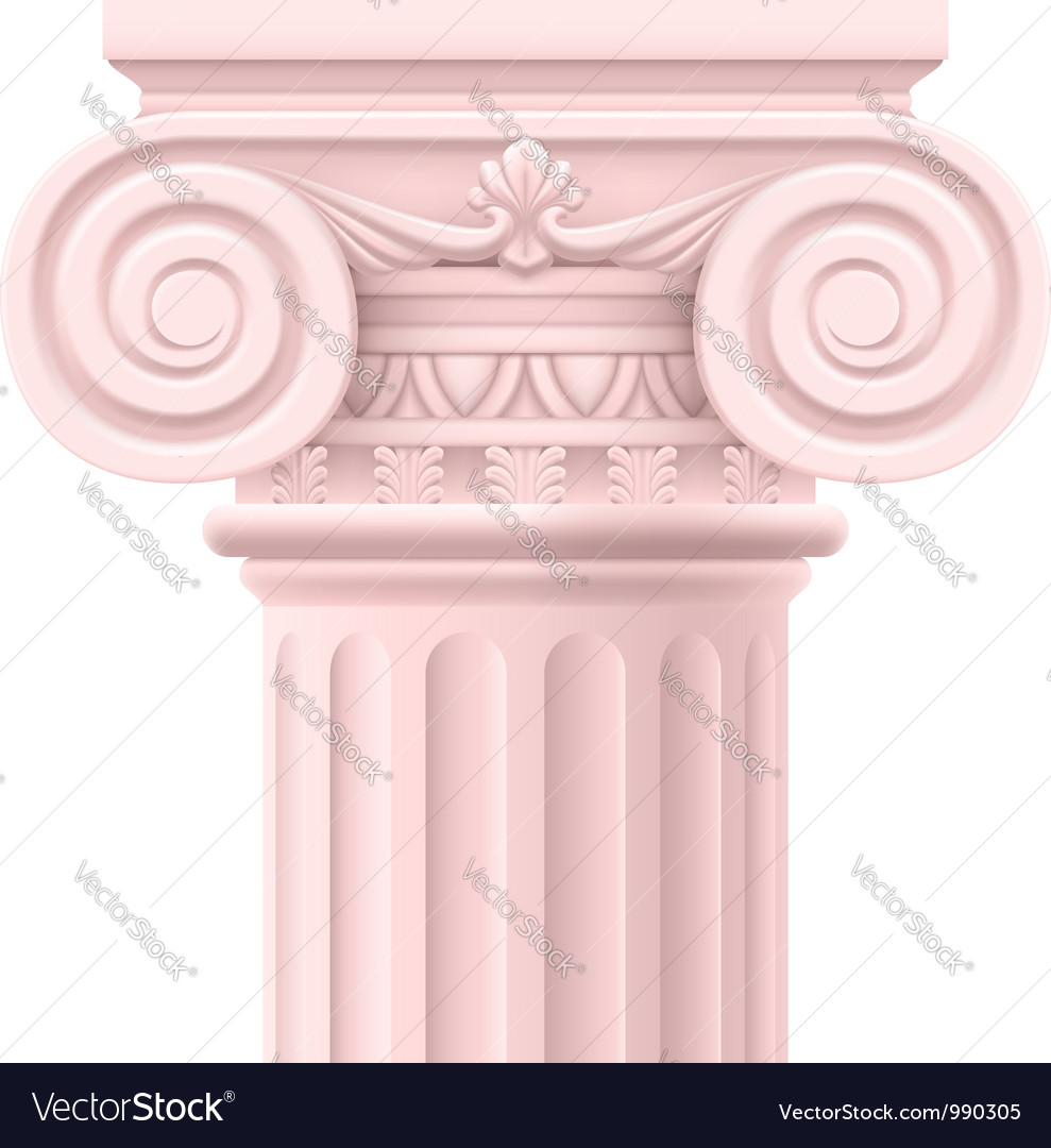 Roman column vector | Price: 3 Credit (USD $3)