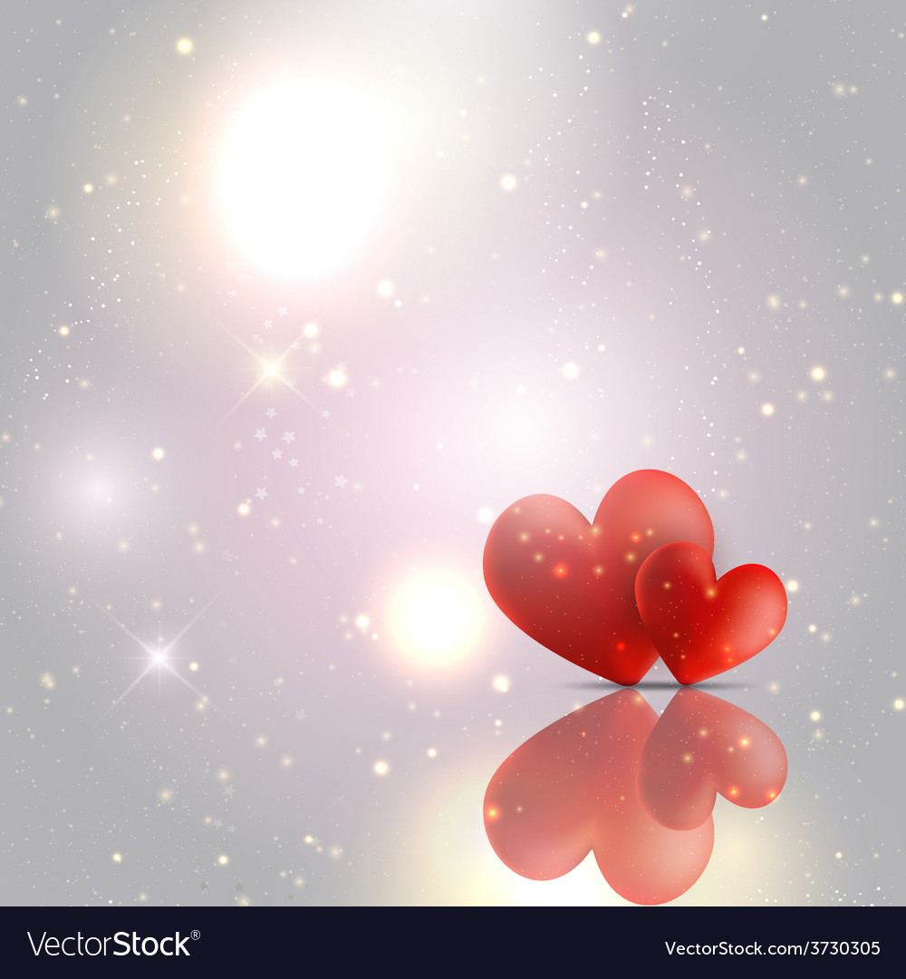 Valentines day hearts background 1612 vector | Price: 1 Credit (USD $1)