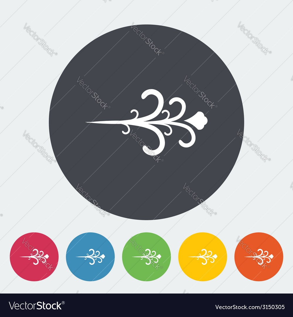 Wind icon vector | Price: 1 Credit (USD $1)