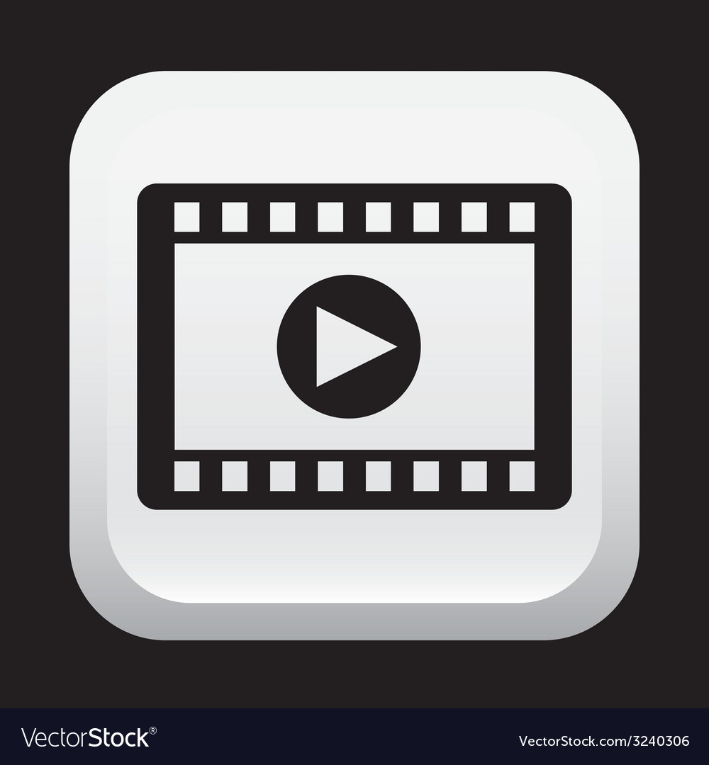 Media player design vector | Price: 1 Credit (USD $1)