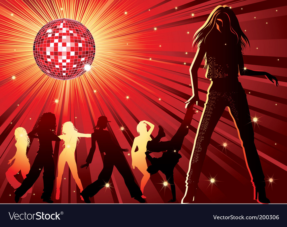 Nightclub background vector | Price: 1 Credit (USD $1)
