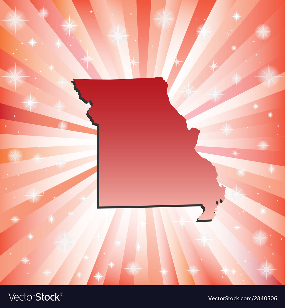 Red missouri vector | Price: 1 Credit (USD $1)
