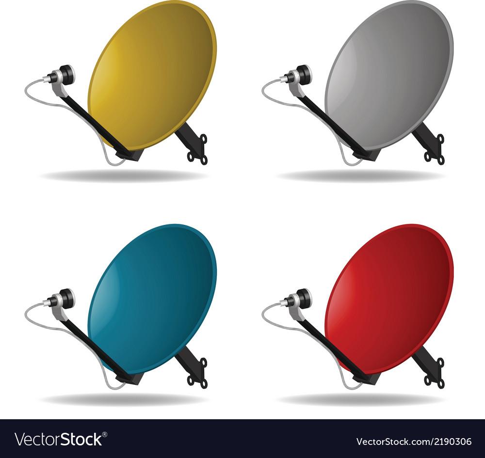 Satellite dish vector   Price: 1 Credit (USD $1)