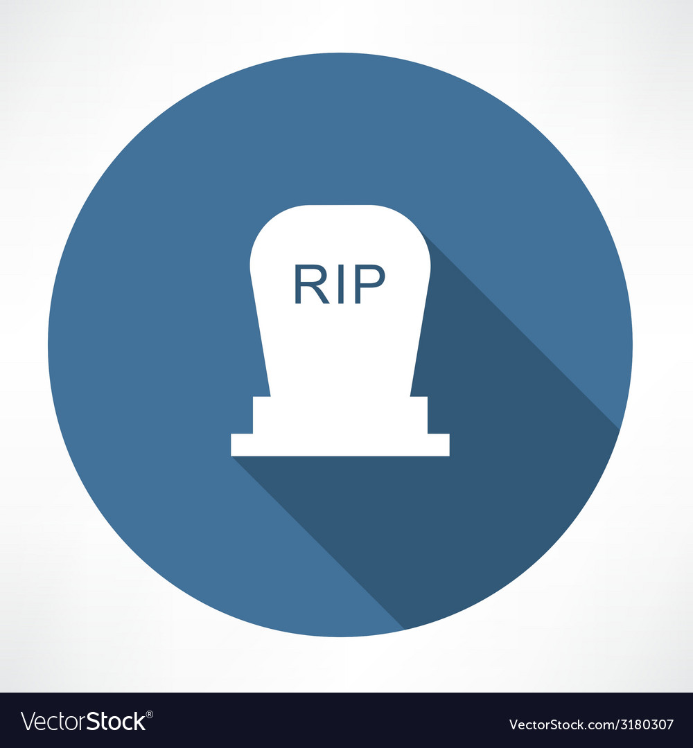 Grave icon vector | Price: 1 Credit (USD $1)