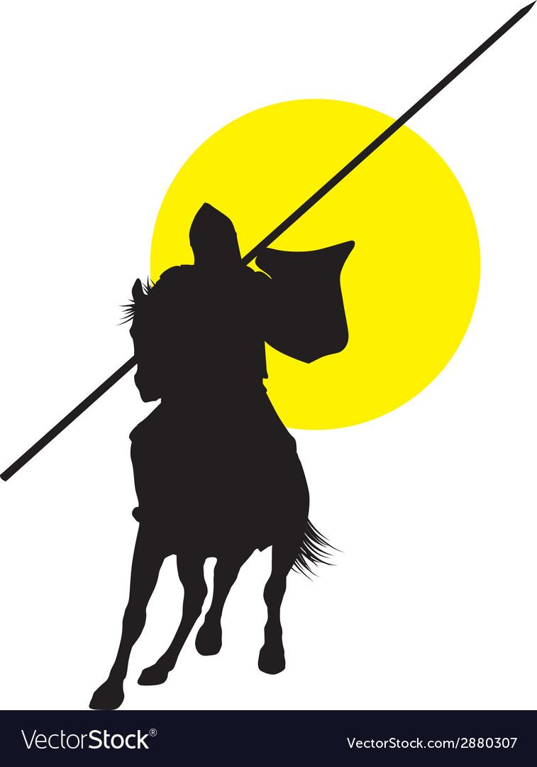 Horseman vector | Price: 1 Credit (USD $1)