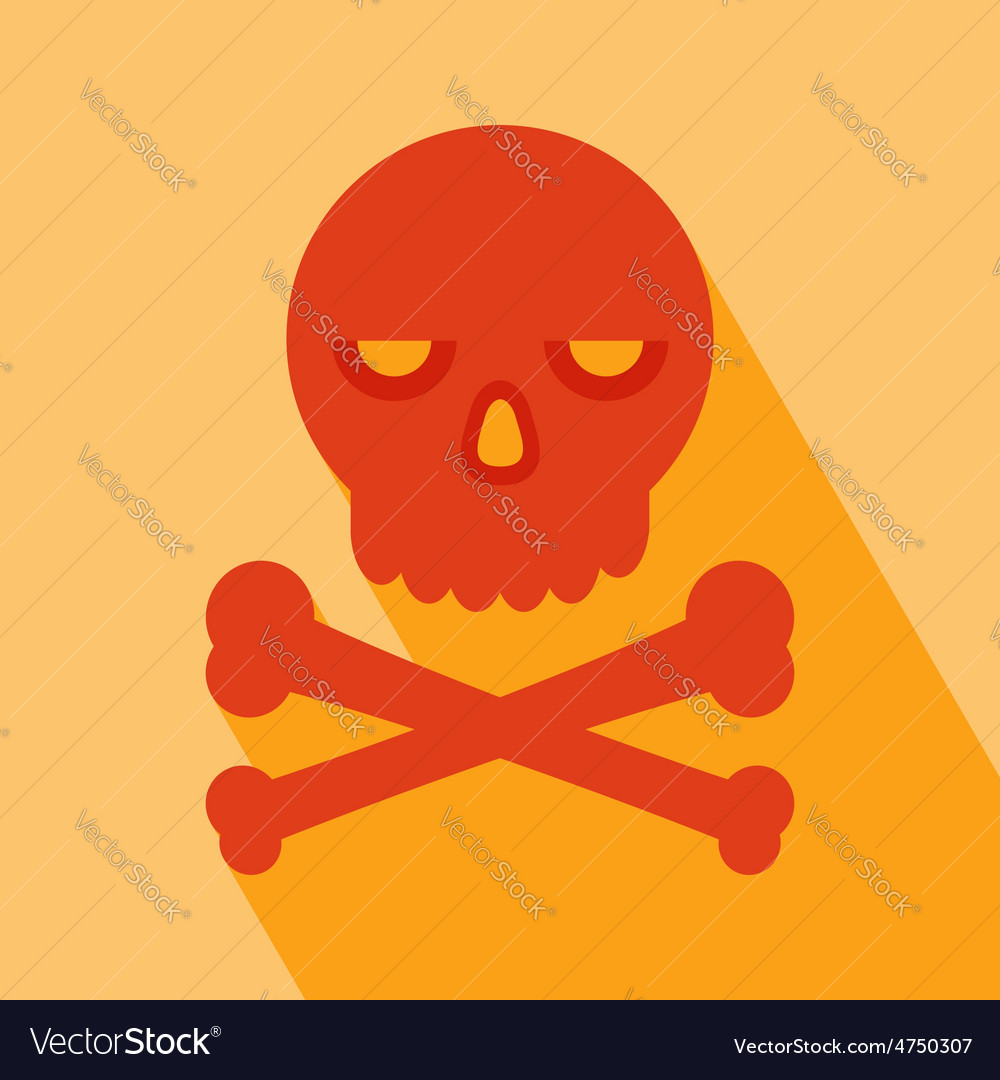 Skull icon vector | Price: 1 Credit (USD $1)