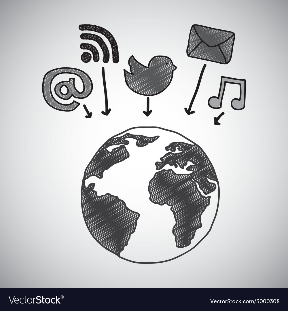 Communication design vector | Price: 1 Credit (USD $1)