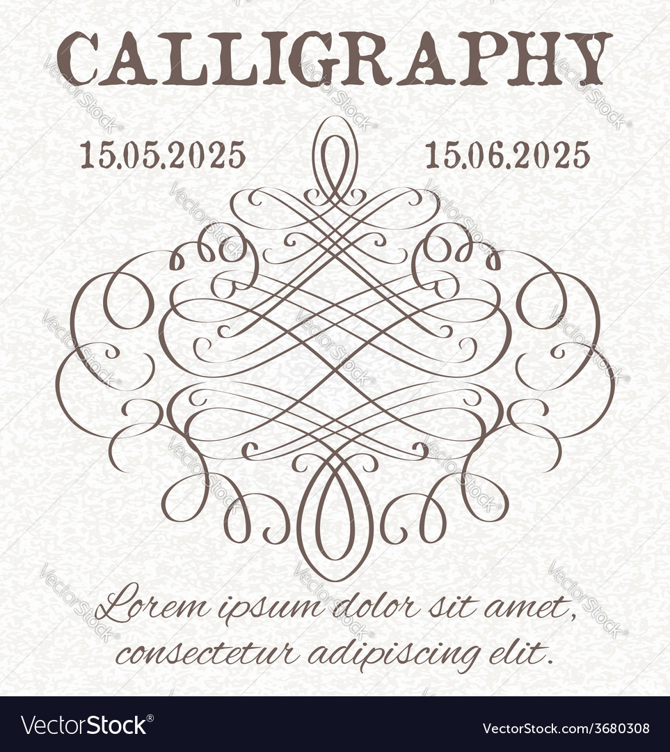 Page decoration template vintage frame vector | Price: 1 Credit (USD $1)