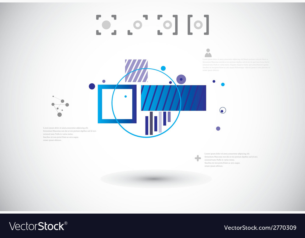 Abstract technological background vector | Price: 1 Credit (USD $1)