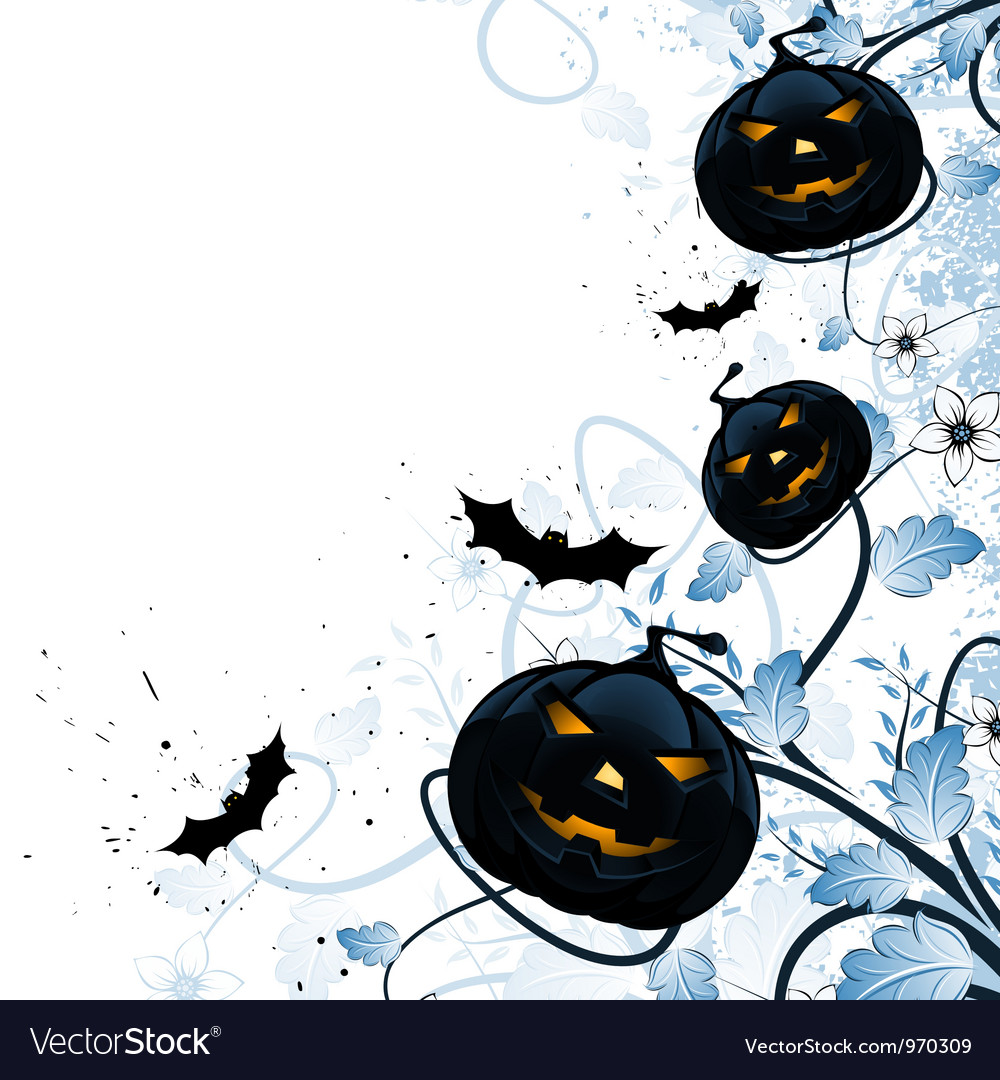Grungy abstract halloween background vector | Price: 1 Credit (USD $1)