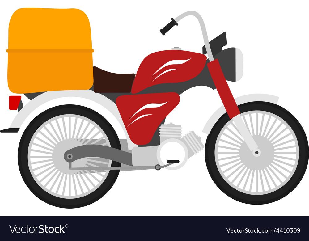 Motor bike vector | Price: 1 Credit (USD $1)