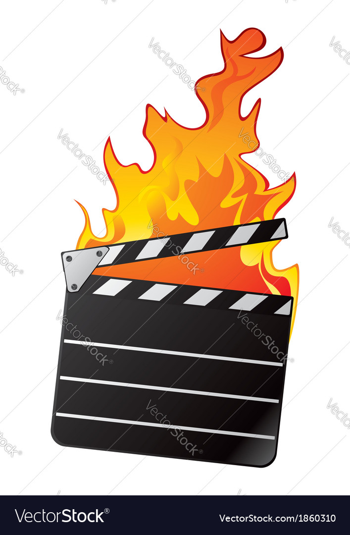 Hot movie vector | Price: 1 Credit (USD $1)
