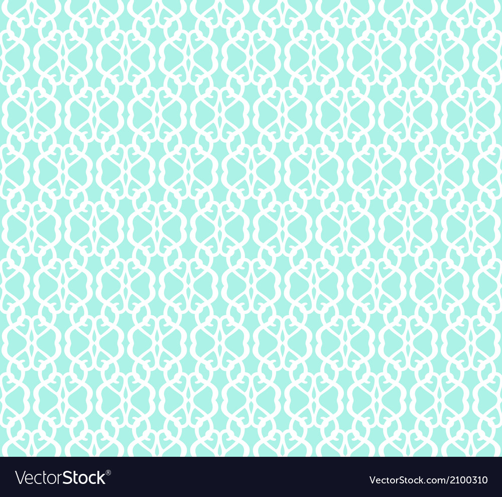 White forged seamless pattern on blue background vector   Price: 1 Credit (USD $1)