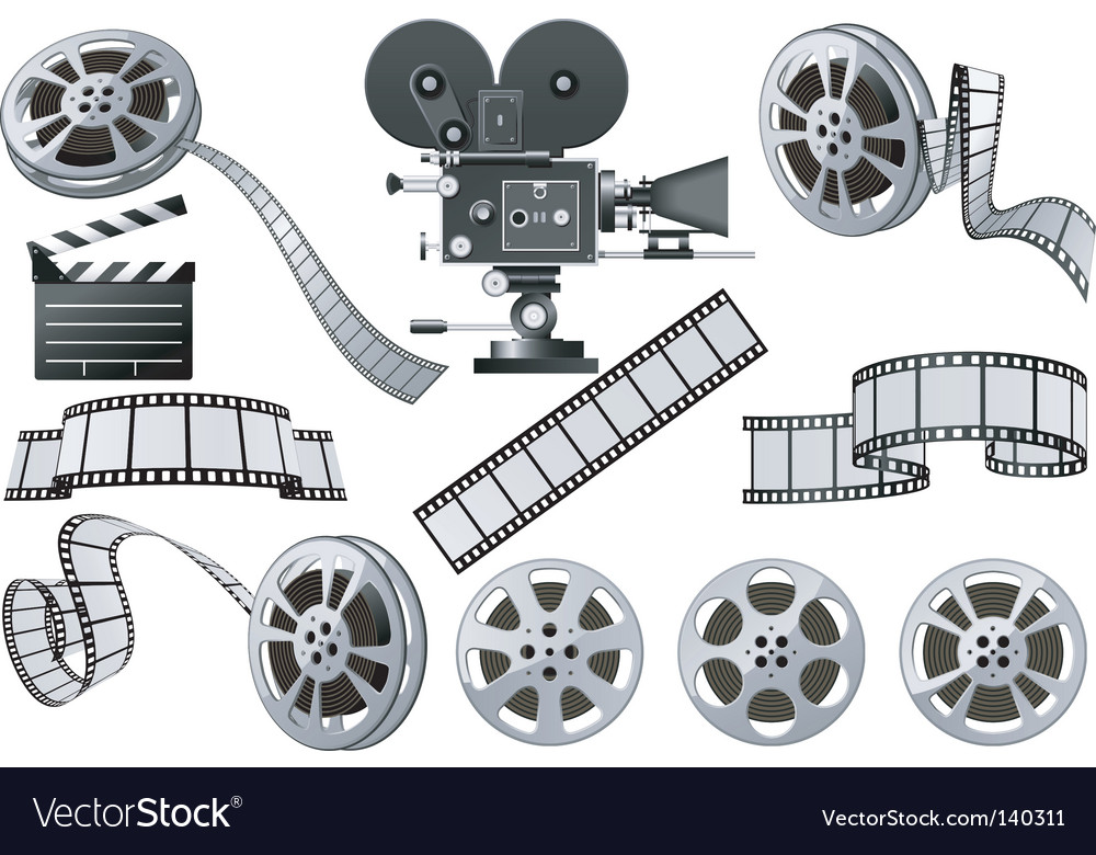 Film industry vector | Price: 3 Credit (USD $3)