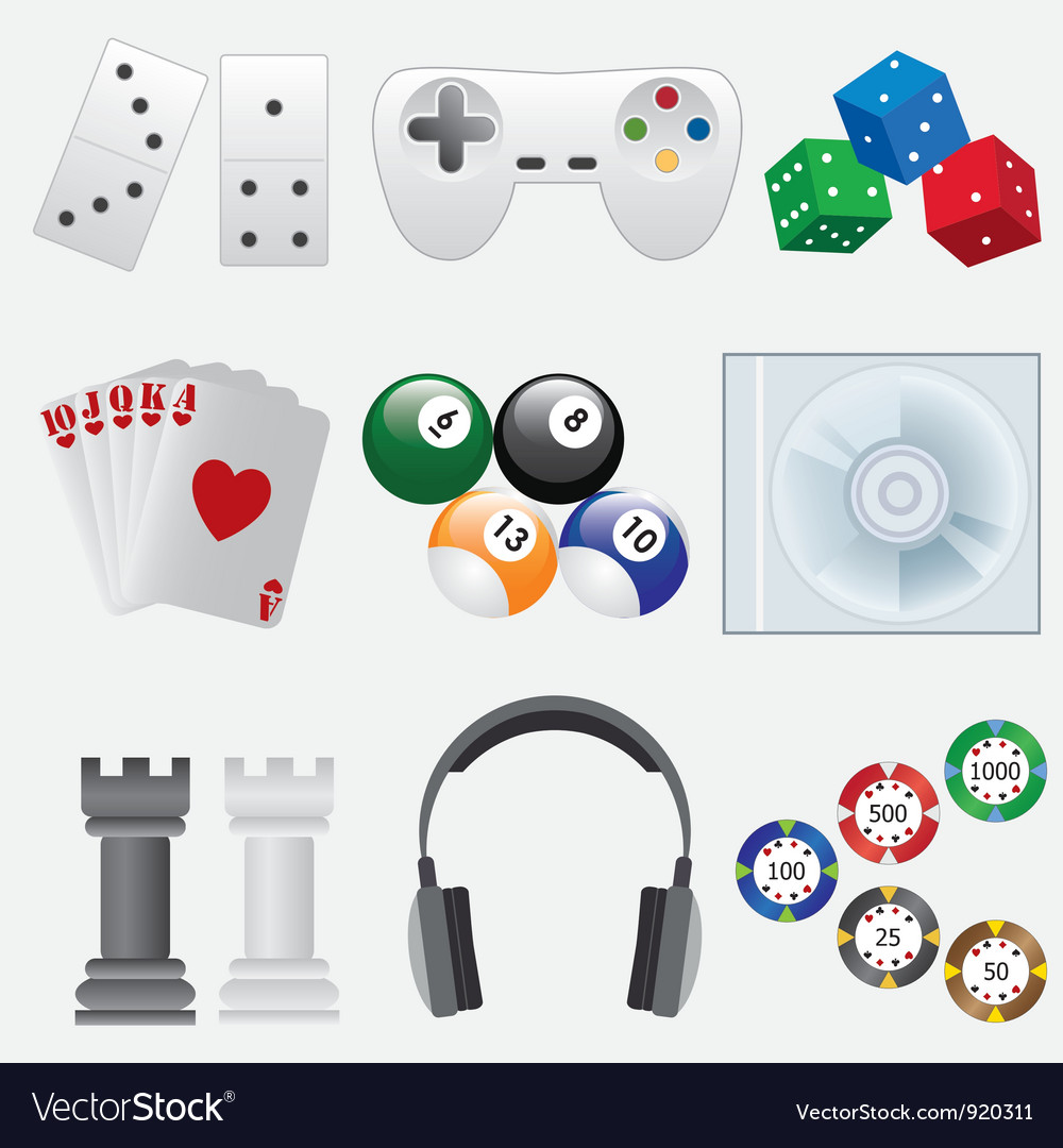 Games set vector | Price: 3 Credit (USD $3)