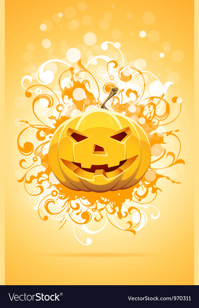 Grunge halloween party background vector | Price: 3 Credit (USD $3)
