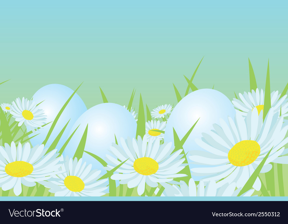 Easter white eggs vector | Price: 1 Credit (USD $1)