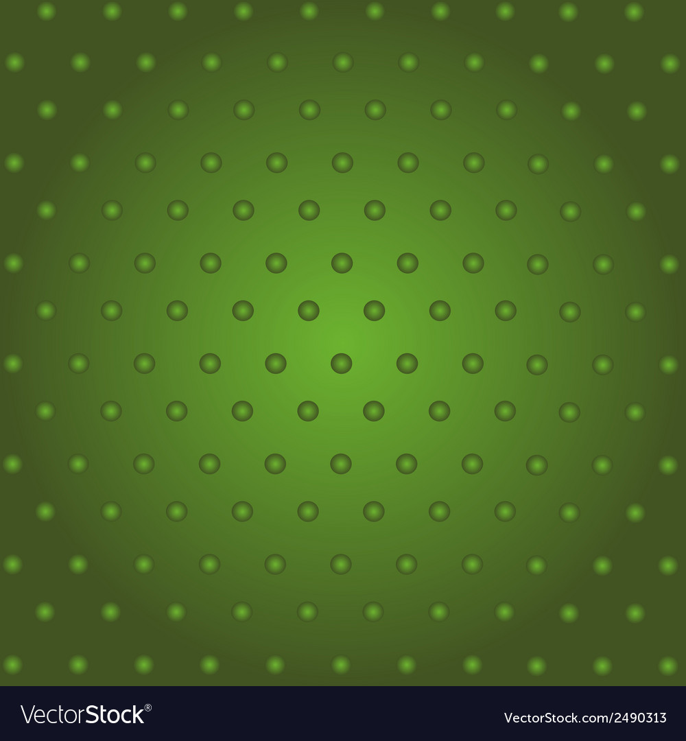 Creative halftone of green dots on a green backgro vector | Price: 1 Credit (USD $1)