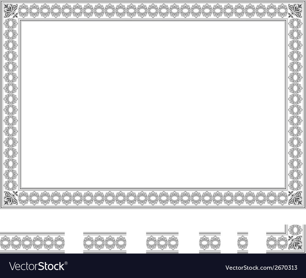 Modular frame bis vector | Price: 1 Credit (USD $1)