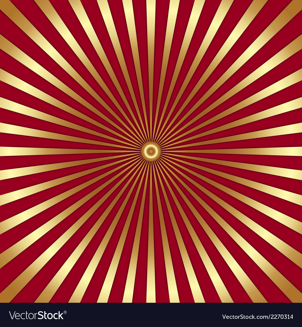 Abstract bright background with golden rays vector | Price: 1 Credit (USD $1)