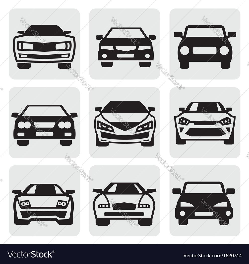 Car symbols set vector | Price: 1 Credit (USD $1)