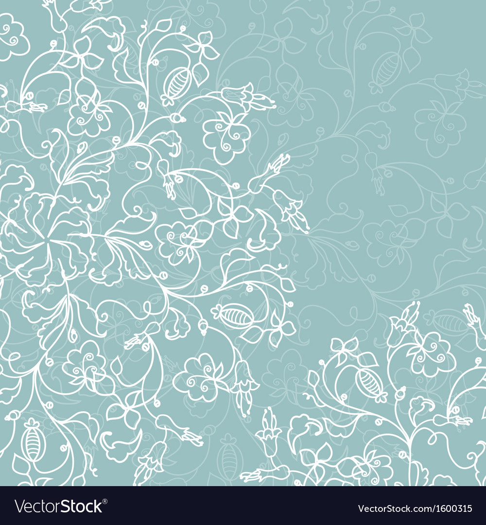 Abstract decoration with ornate ornament vector | Price: 1 Credit (USD $1)