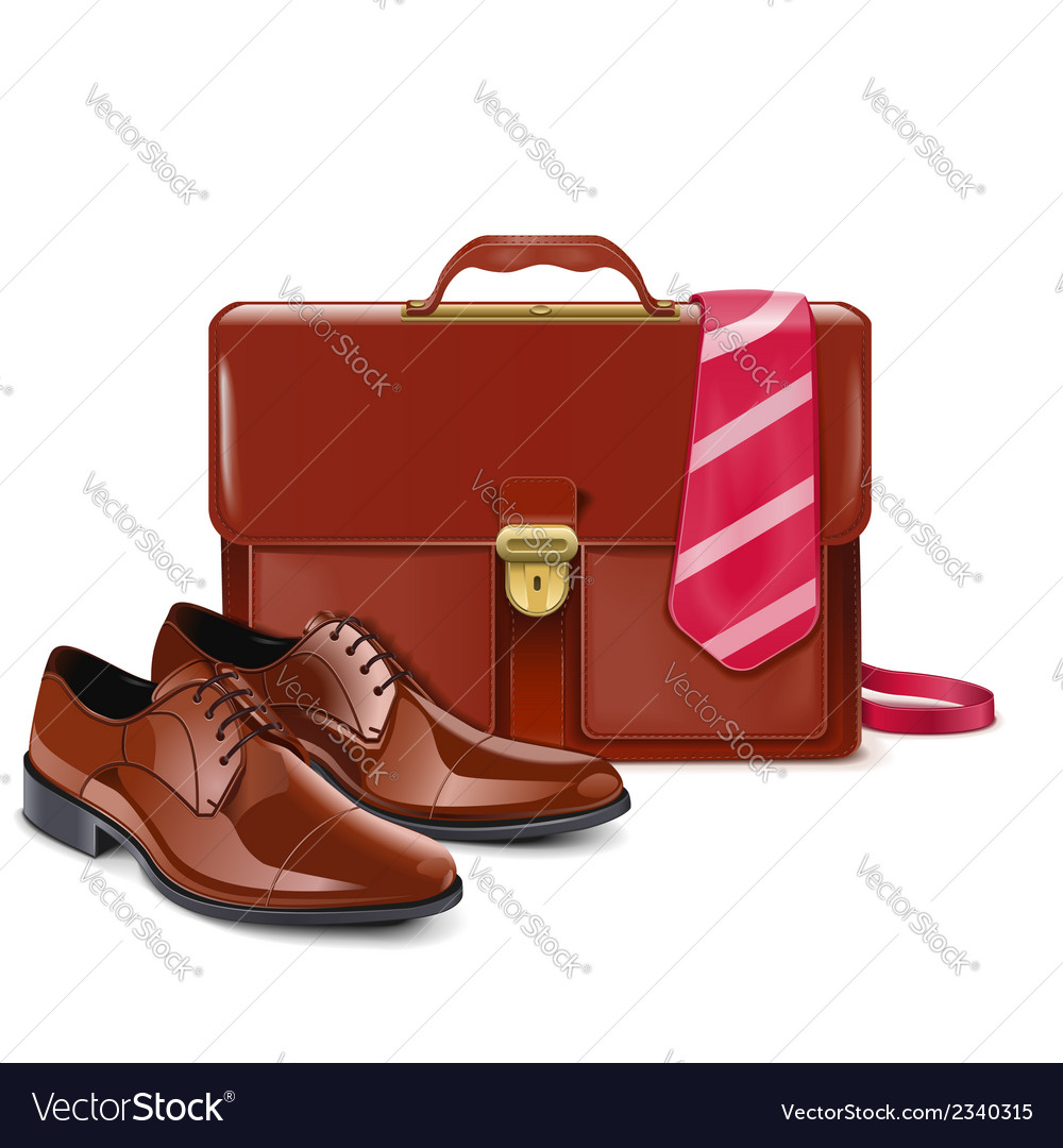 Businessman accessories vector | Price: 1 Credit (USD $1)