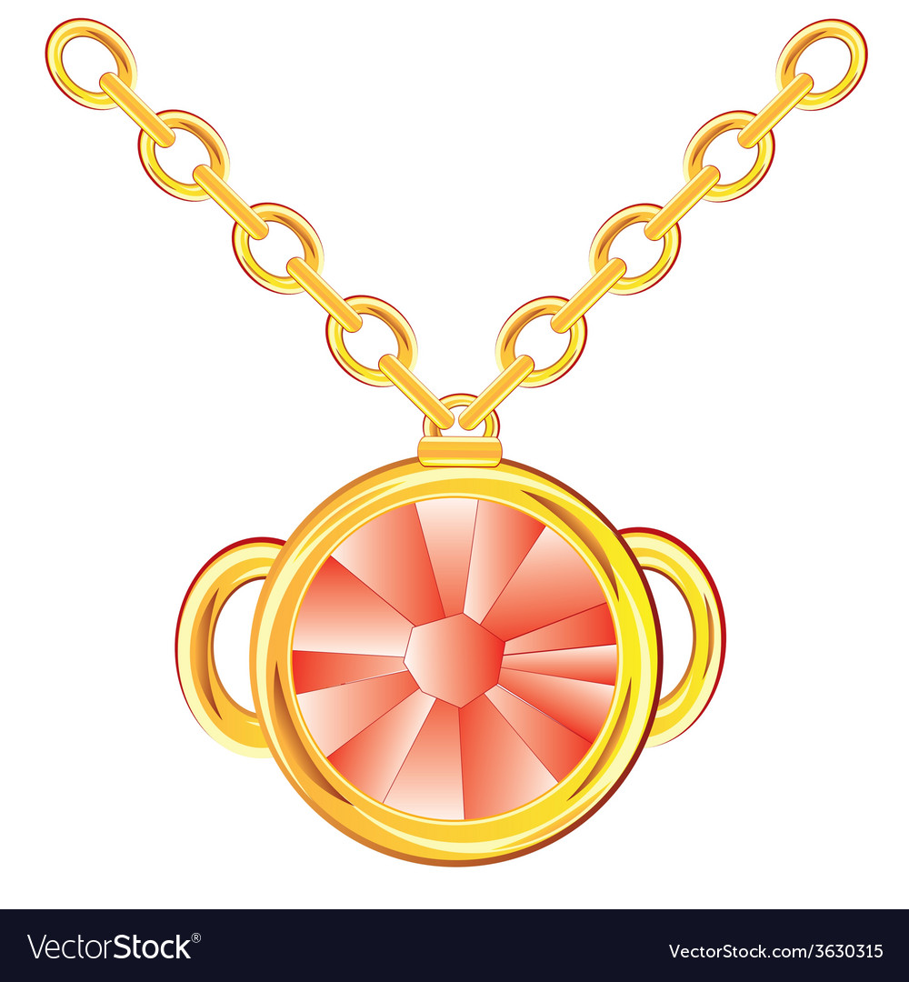 Decoration with jewels vector | Price: 1 Credit (USD $1)