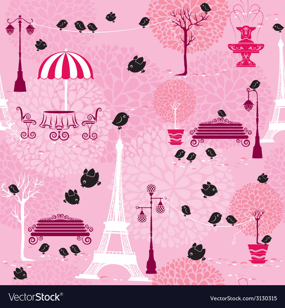 Paris birds 380 vector | Price: 1 Credit (USD $1)