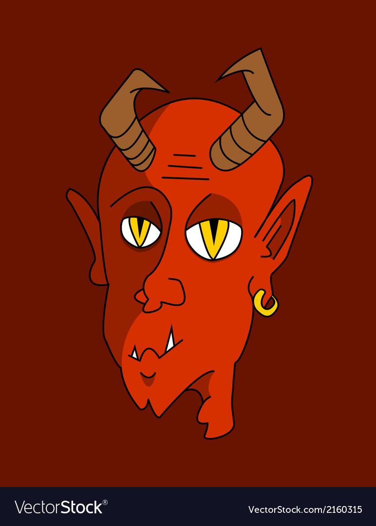 Red devil vector   Price: 1 Credit (USD $1)