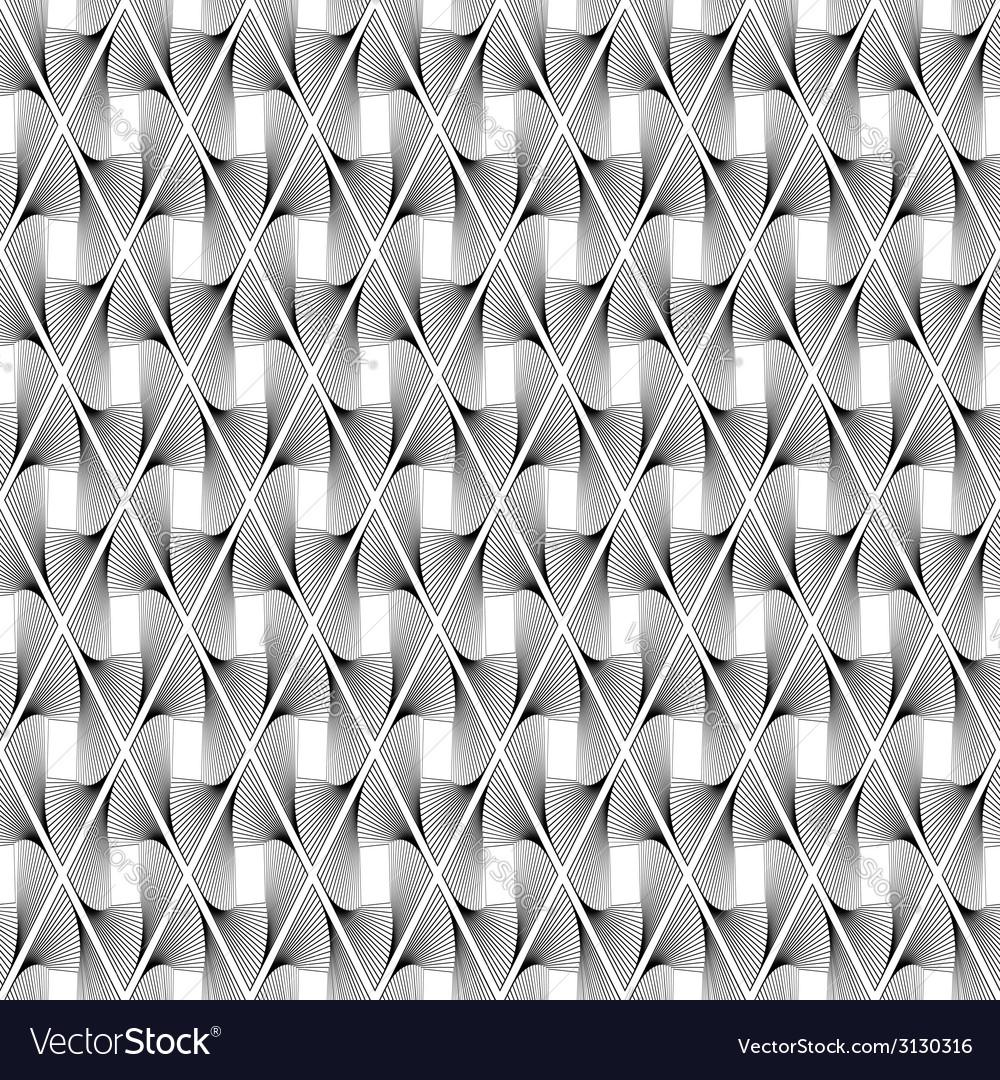 Design seamless wave geometric pattern vector   Price: 1 Credit (USD $1)