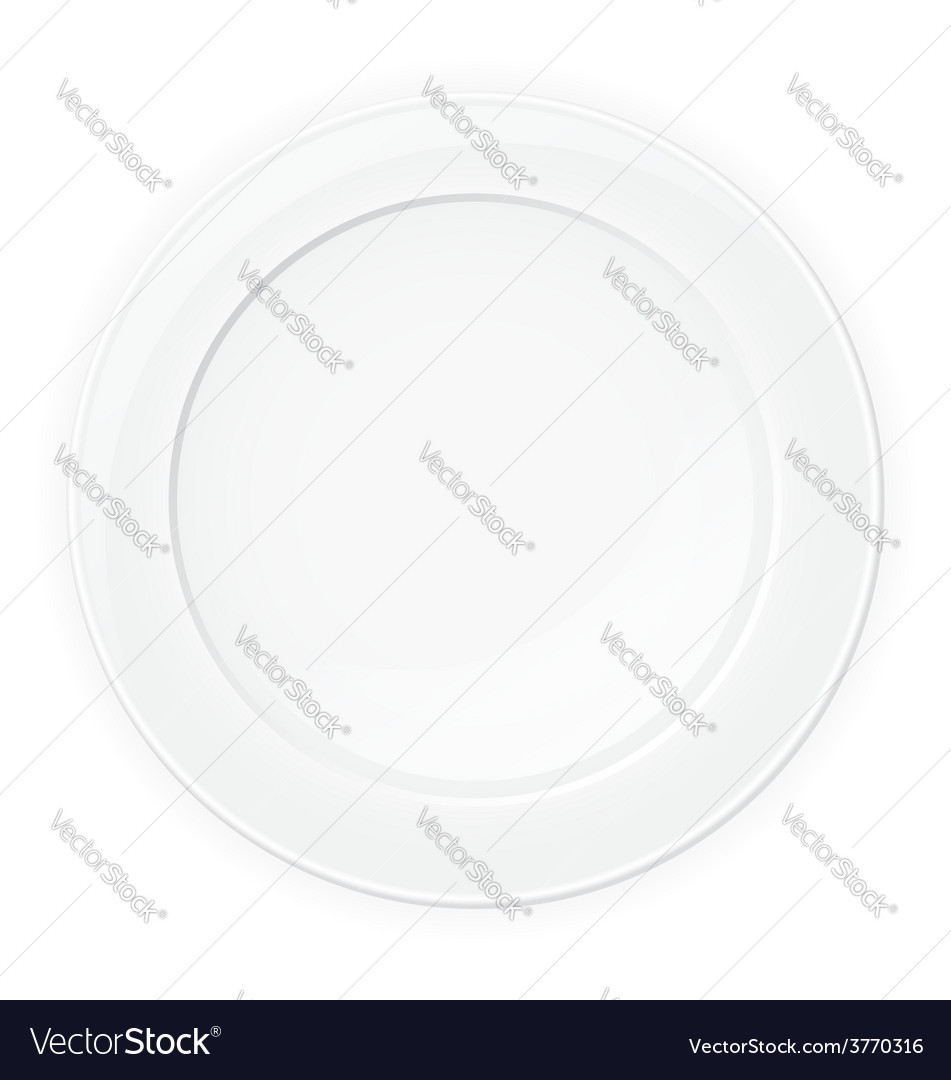 Plate 01 vector | Price: 1 Credit (USD $1)