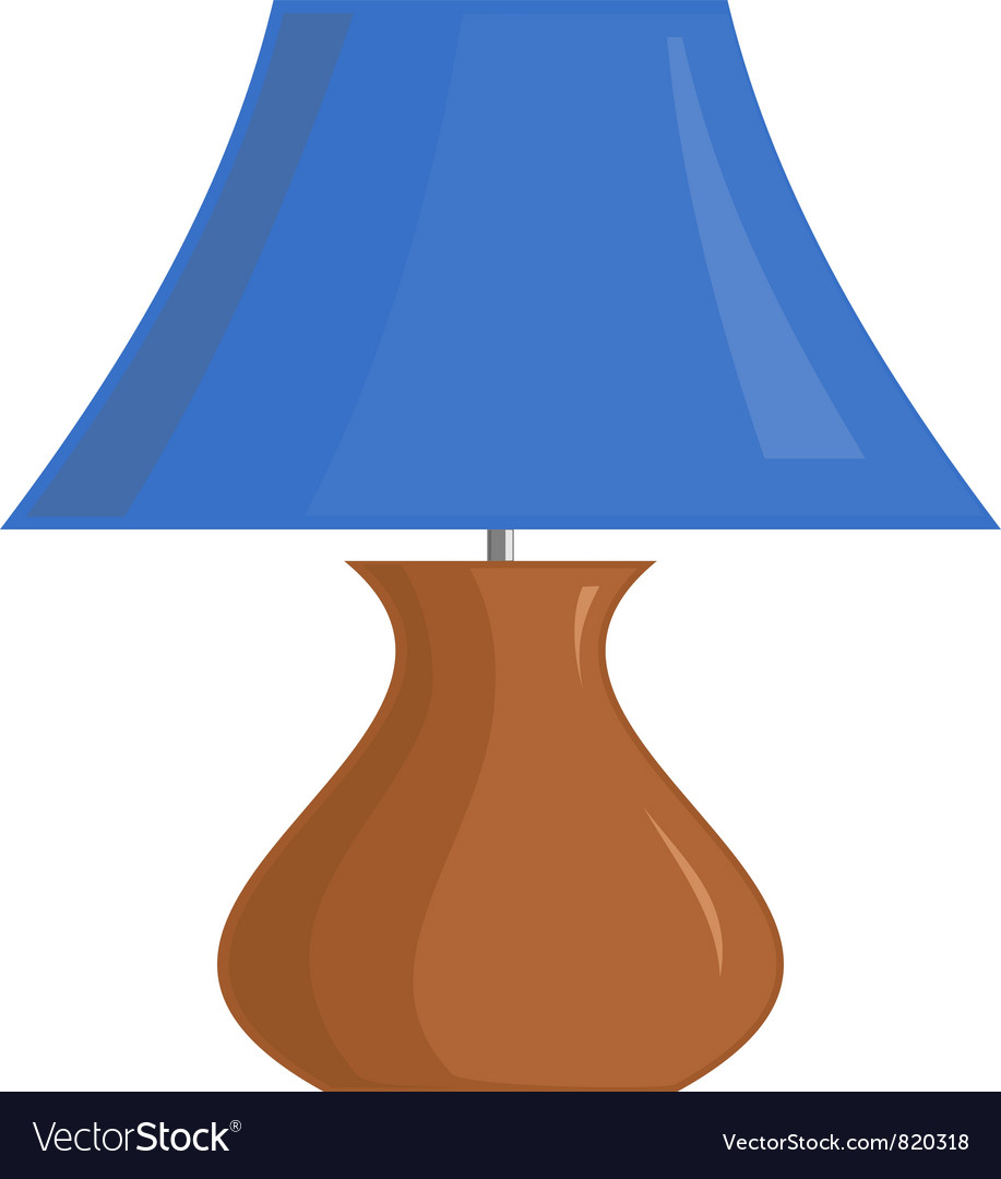 Image of the lamp shade vector | Price: 1 Credit (USD $1)