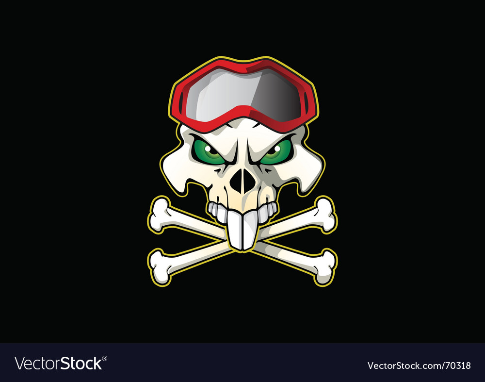 Pirate biker vector | Price: 1 Credit (USD $1)