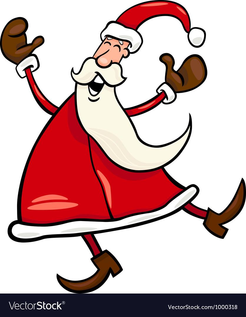 Santa claus cartoon vector   Price: 1 Credit (USD $1)
