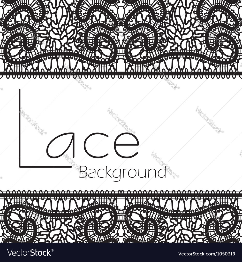 Black lace background vector | Price: 1 Credit (USD $1)