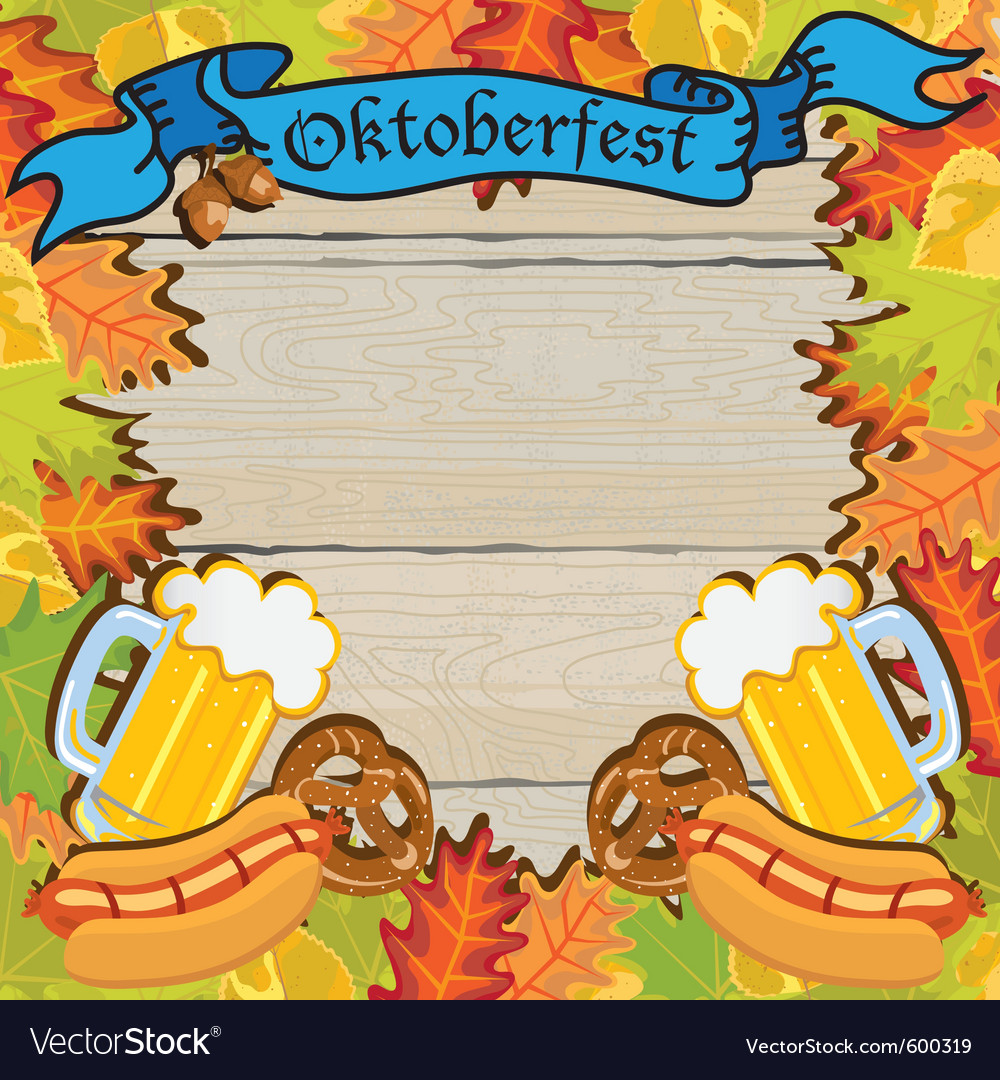 Oktoberfest party vector | Price: 1 Credit (USD $1)
