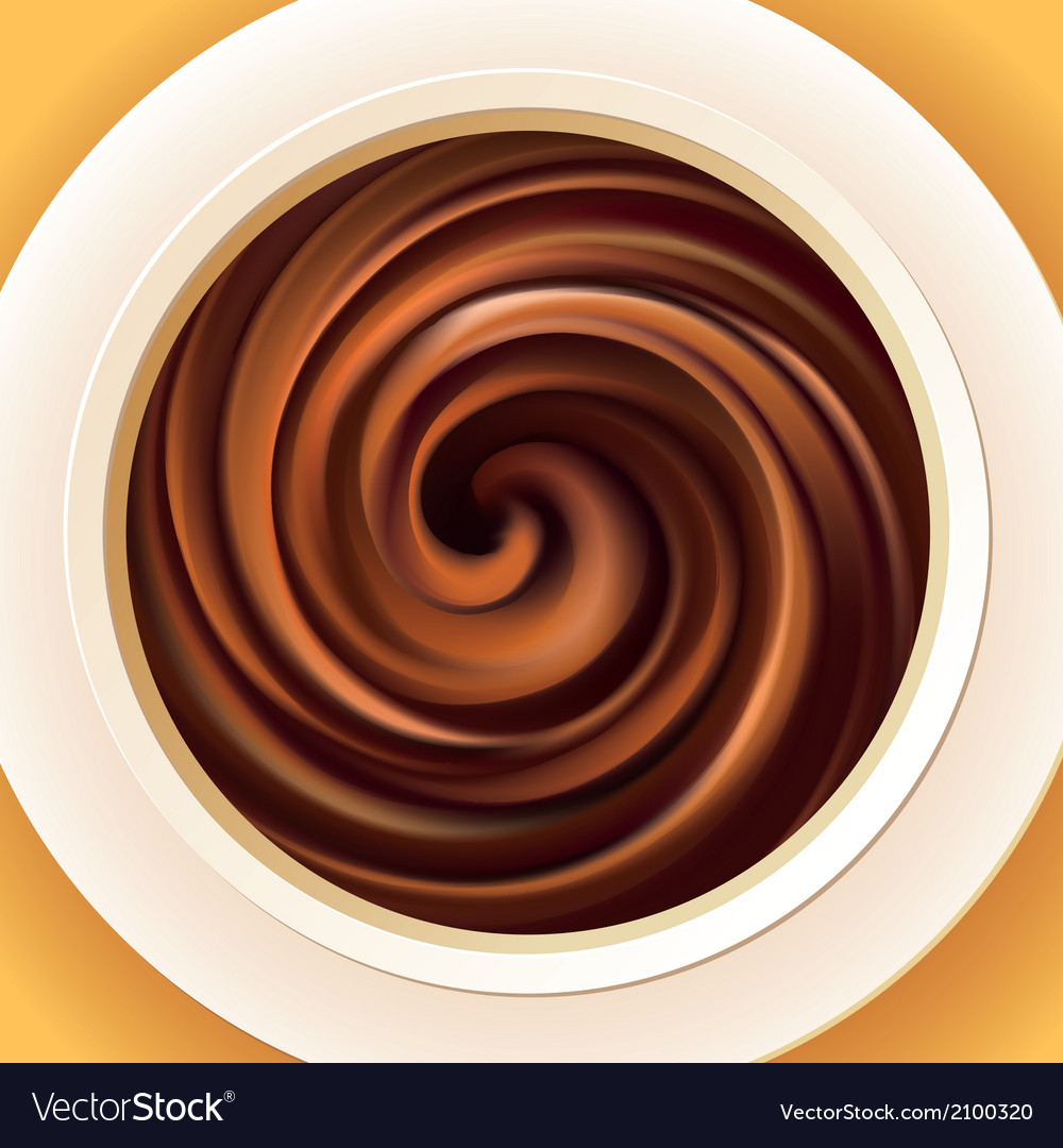 Background of mixed cream in a bowl vector | Price: 1 Credit (USD $1)