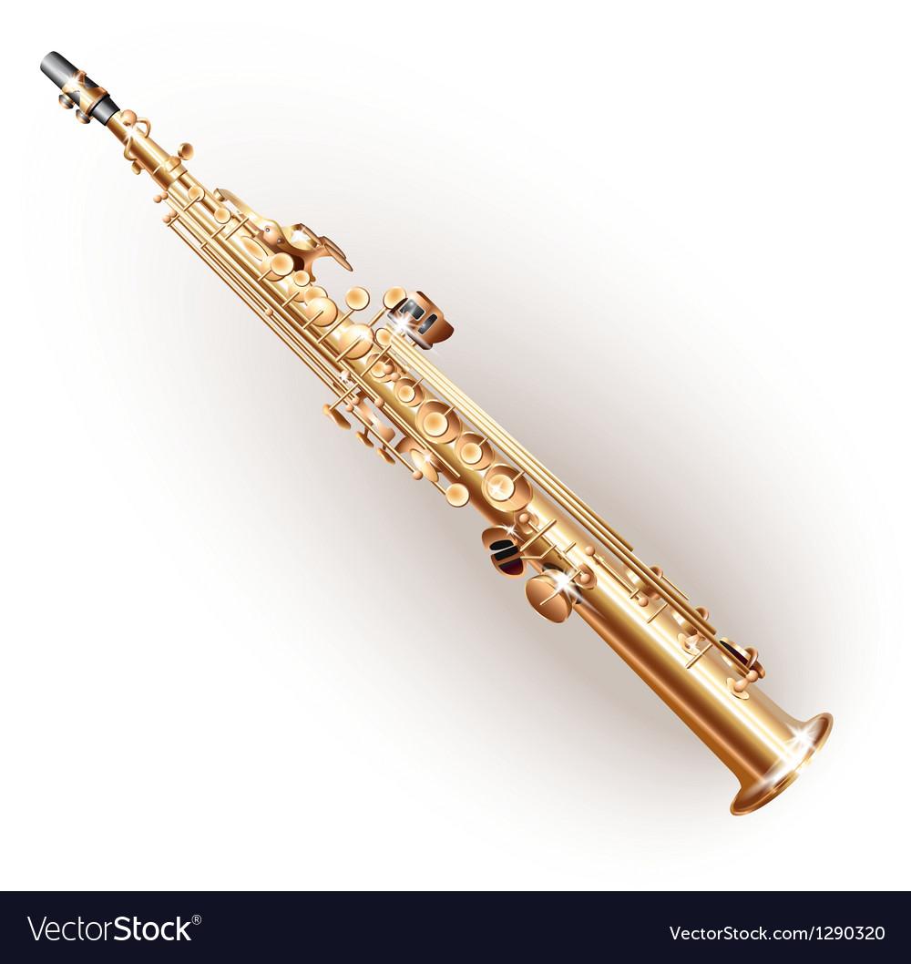 Classical soprano sax vector | Price: 1 Credit (USD $1)