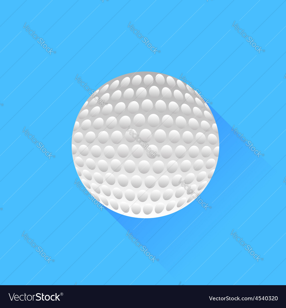 Colf ball vector | Price: 1 Credit (USD $1)