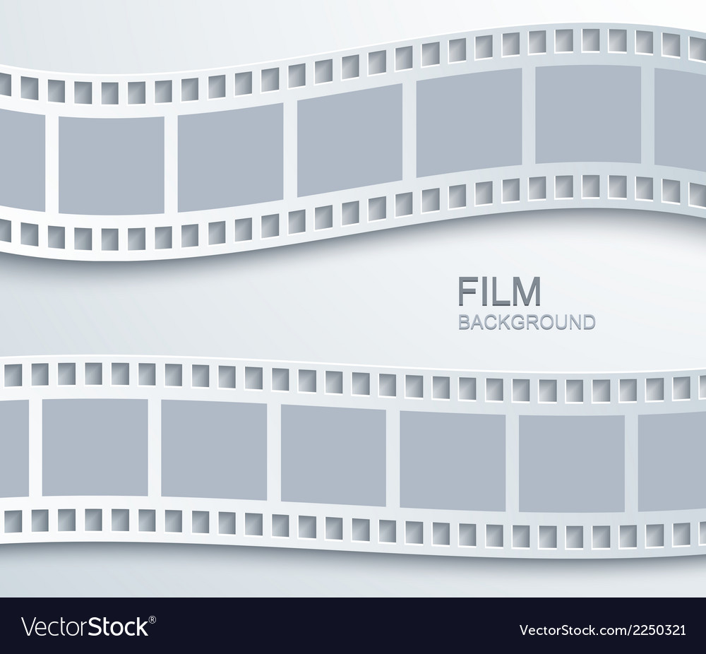 Modern film background vector | Price: 1 Credit (USD $1)