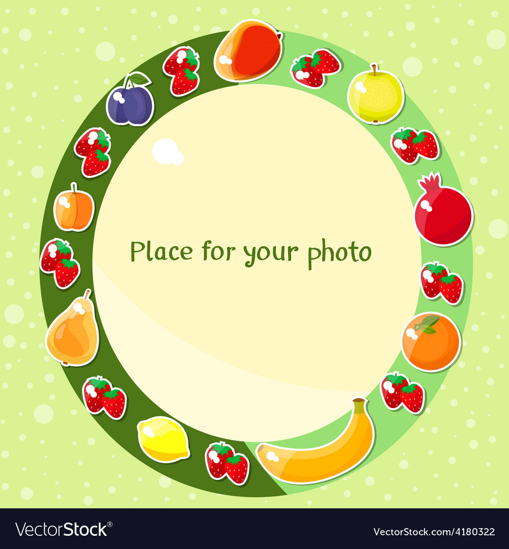 Fruit fame vector | Price: 1 Credit (USD $1)