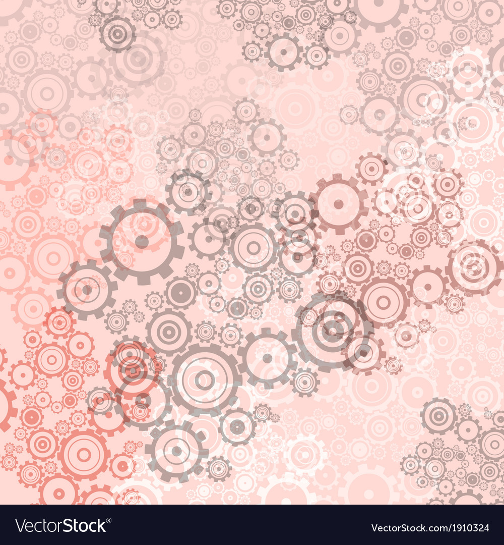 Abstract light cogs gears background vector | Price: 1 Credit (USD $1)
